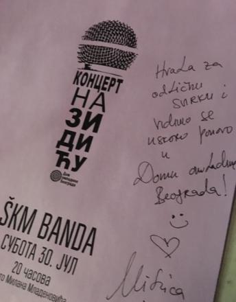 ŠKM so po skoraj desetih letih zopet igrali v Beogradu in znova navdušili